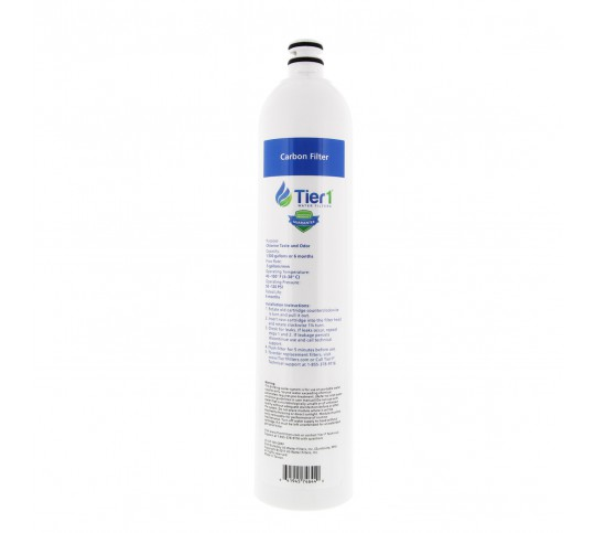 US-UF-100-CBRF Tier1 Ultra-Filtration Hollow Fiber Water Filter System Replacement Carbon Filter Cartridge
