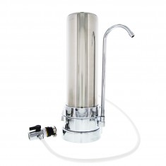 CT-SS-1000 Tier1 Countertop Drinking Water Filter System (Stainless Steel)