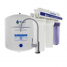 5-Stage Tier1 Reverse Osmosis System with Brushed Nickel Faucet