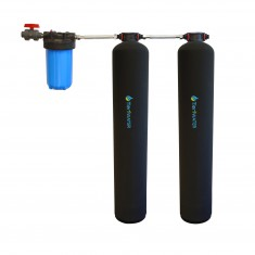Tier1 Eco Series Salt Free Water Softener with Chlorine, Taste & Odor Reduction System