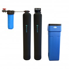 Series 10000 Tier1 Whole House Carbon and KDF Water Purification and Water Softener System
