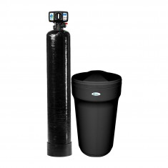 Tier1 Elite Series 45,000 Grain High Efficiency Digital Water Softening System for Hardness, Iron and Manganese Reduction for 4- 6 Bathrooms