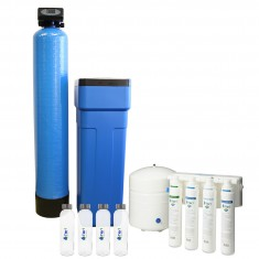 Tier1 Whole House Water Softener PLUS 4-Stage Reverse Osmosis System